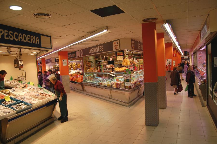 Vamos a la compra con los niños, a un mercado tradicional