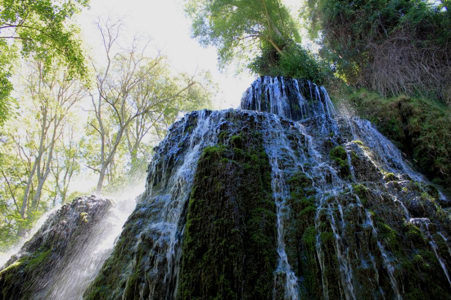 Cascada del Monasterio de Piedra, en Zaragoza