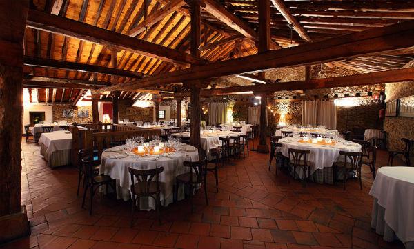 Salón del restaurante La Portada del Mediodía