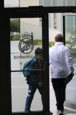 David, dispuesto a realizar la prueba de selección para jugar en el Real Madrid.