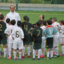 Prueba de acceso para jugar al fútbol en el Real Madrid