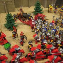 Clicks de Playmobil: batalla medieval