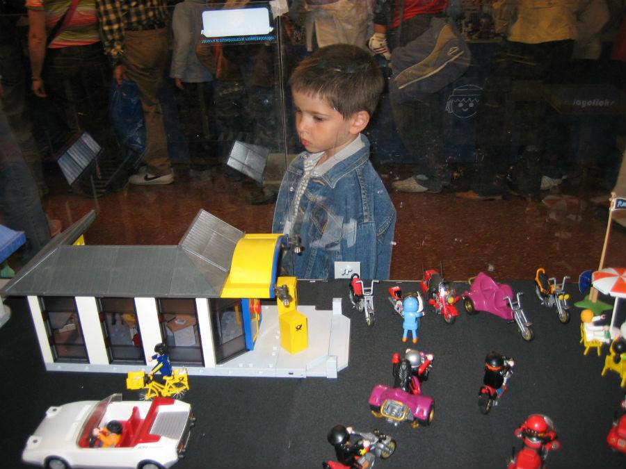 Clicks de Playmobil: escena urbana