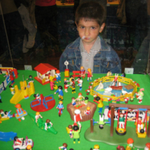 Clicks de Playmobil: parque infantil