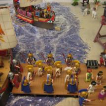 Clicks de Playmobil: escena del Imperio Romano