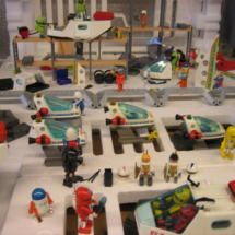 Clicks de Playmobil: escena de Star Wars