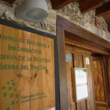Centro de interpretación del Hayedo de Montejo, en Montejo de la Sierra