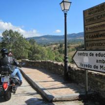 Los accesos al Hayedo de Montejo están muy bien indicados.