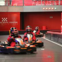 Los niños disfrutan enormemente esta experiencia con la velocidad.