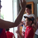 Grabar un lipdub con los niños