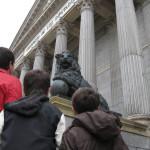 Paseo otoñal con niños por el centro de Madrid