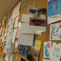 Los trabajos de los participantes en estos talleres también se exponen en el Thyssen :-)