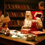 Un viaje mágico para conocer a Papá Noel
