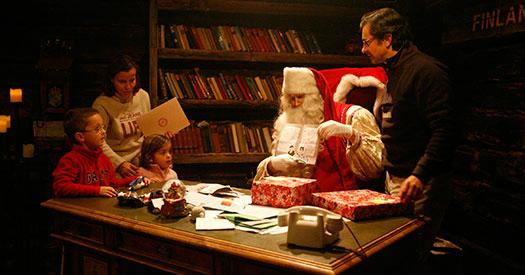 Imaginarium organiza cada año un viaje a Laponia para conocer a Papá Noel