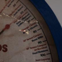 En la báscula del Miba podréis saber cuánto pesan los famosos.