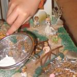 Montar un belén de plastilina: plan prenavideño en casa