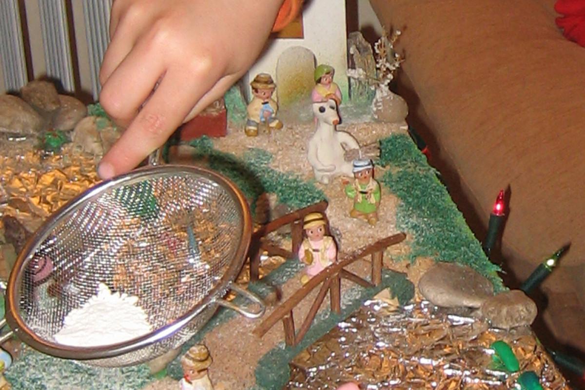 Modelamos figuras de plastilina para nuestro belén navideño