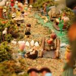 Montar un belén de plastilina: plan navideño en casa