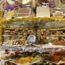 Expositor de dulces navideños de Casa Mira