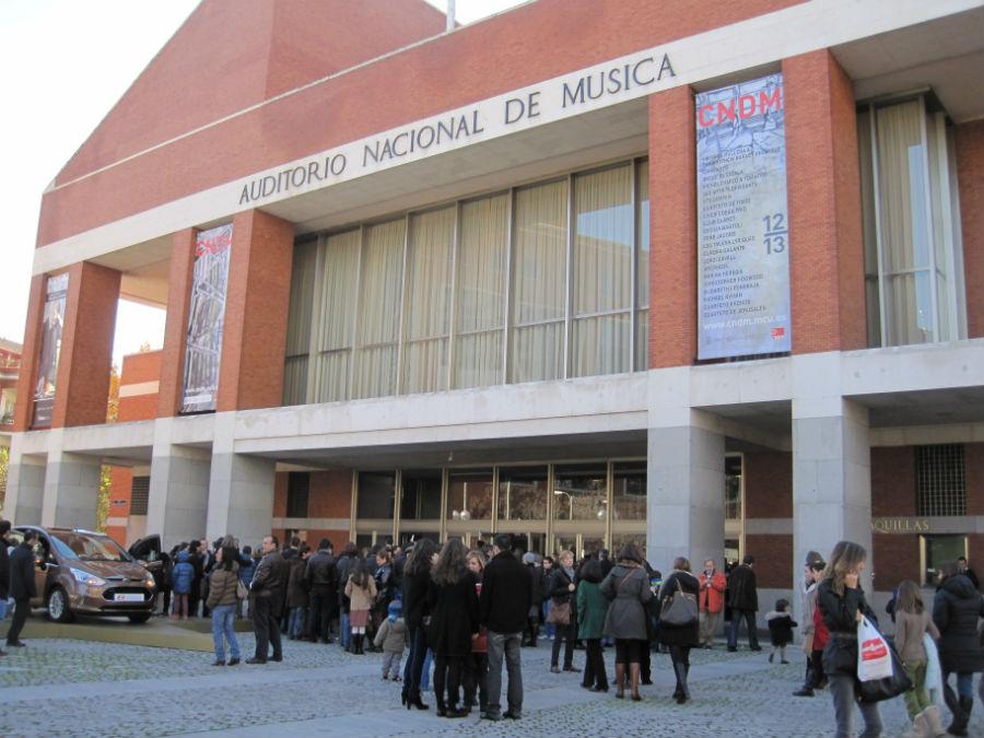 Concierto para familias en el Auditorio Nacional.