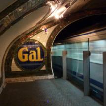 Andén 0, la estación fantasma del Metro de Madrid.