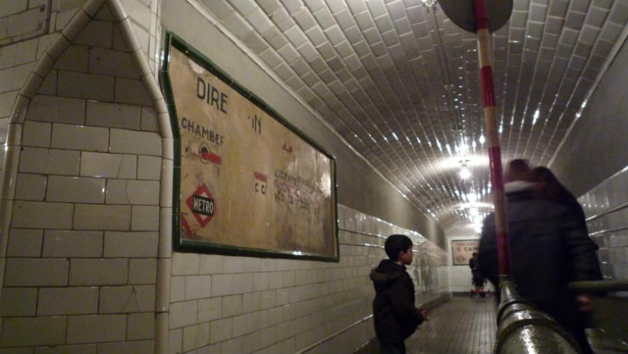 Visitamos la estación fantasma del Metro de Madrid.
