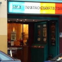La Sala Cuarta Pared está en la calle Ercilla, en Madrid