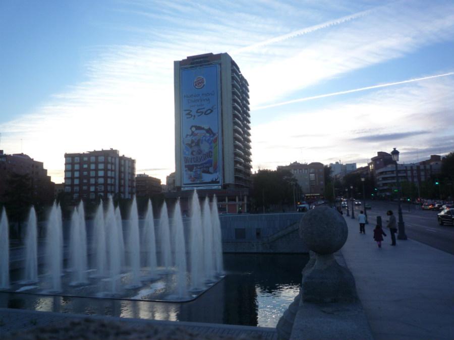Paseando por el Madrid Río...