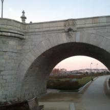 Puentes sobre el río Manzanares.