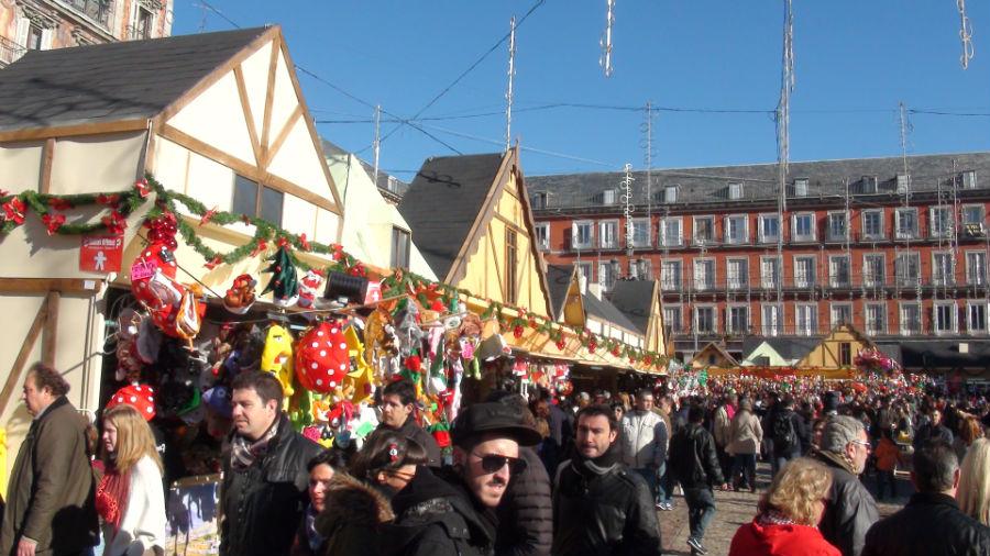 Dónde ver mercadillos de Navidad en Madrid