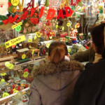 Mercado de Navidad en la Plaza Mayor de Madrid 2016