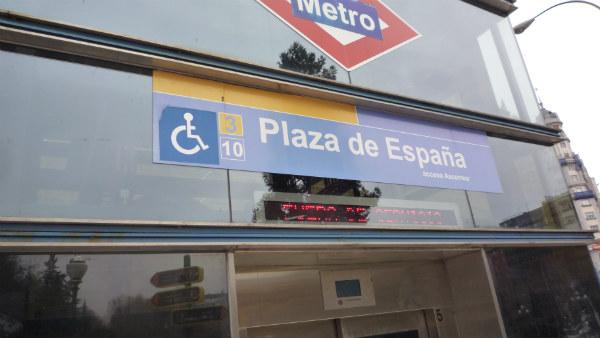 Este restaurante está bajo la Plaza de España, en Madrid