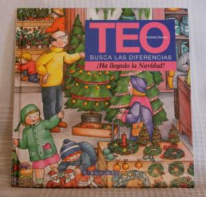 Teo busca las diferencias: ¡Ha llegado la Navidad!, para niños de hasta 6 años.