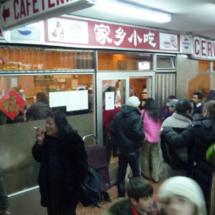 El ambiente de este restaurante es auténticamente chino.