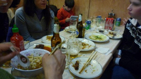 En invierno o en verano... es un buen sitio para comer rápido en una salida al centro de Madrid.