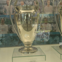 Estadio Santiago Bernabéu: sala de trofeos del Real Madrid