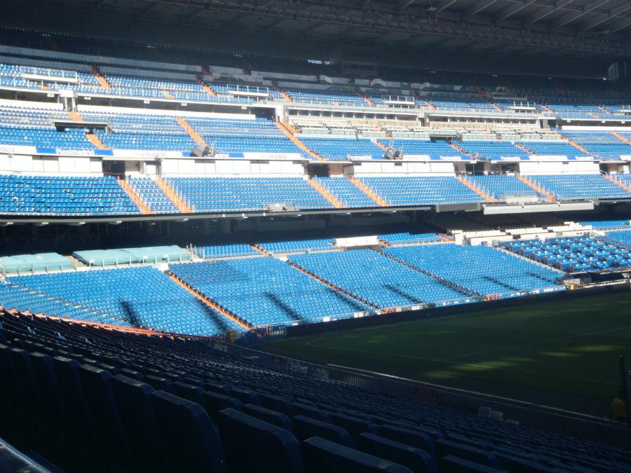 Visitamos el estadio Santiago Bernabéu