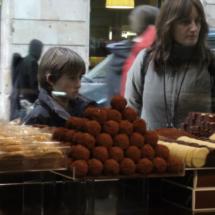 Merendamos en la tienda de galletas Demasié, en Barcelona