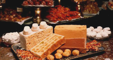 Turrones y dulces navideños tradicionales de Casa Mira.