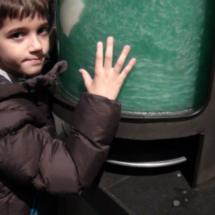 Los niños disfrutan y aprenden en el Cosmocaixa.