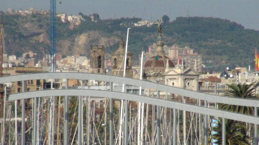 Vistas de Barcelona desde una golondrina