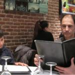 Pizzería La Bella Napoli, en Barcelona: el servicio es rápido y las pizzas muy ricas.