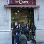 Churrería La Churre del Poble Sec, en Barcelona