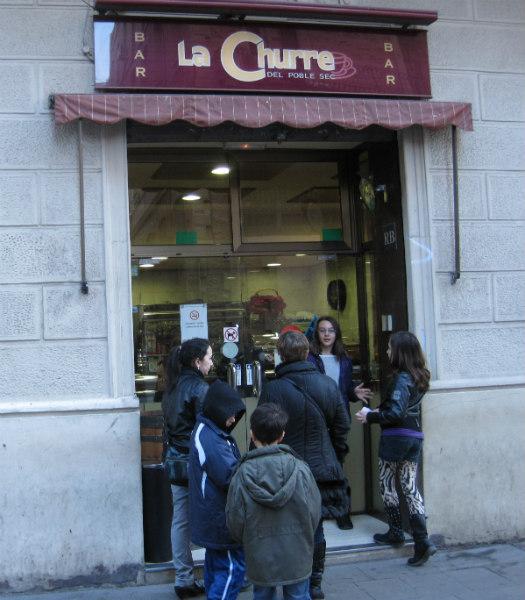 La Churre del Poble Sec, en Barcelona