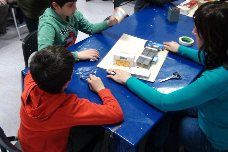 Actividades infantiles en el Museo del Prado: taller de manualidades