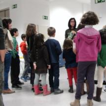 Taller de manualidades en el Museo del Prado