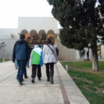 La Fundación Miró de Barcelona, con niños