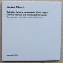 Estrellar, según Joan Pitarch