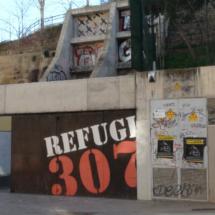 Visitamos el Refugi 307 en Barcelona