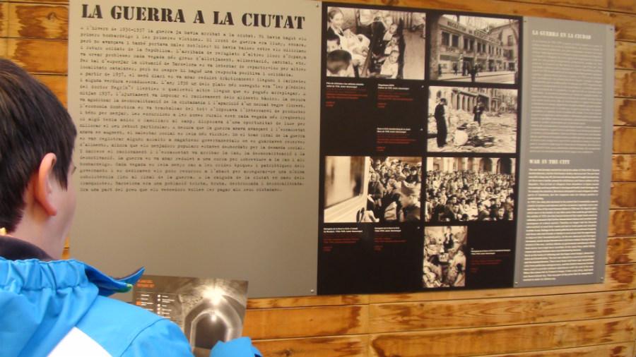 Éste es un auténtico refugio de la Guerra Civil Española